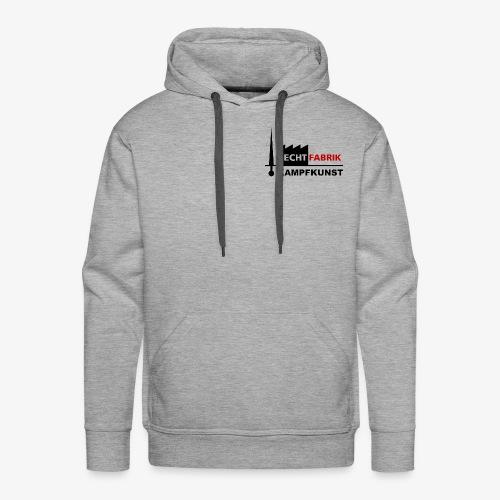 Fechtfabrik (Logo) - Männer Premium Hoodie