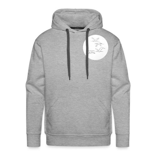 Free as a bird - Mannen Premium hoodie