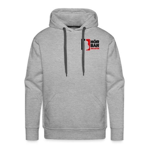 Hörbar-Akustik Logo I original - Männer Premium Hoodie