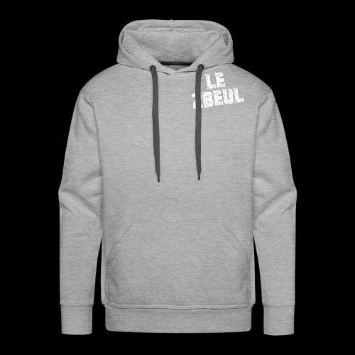 Le logo - Sweat-shirt à capuche Premium pour hommes