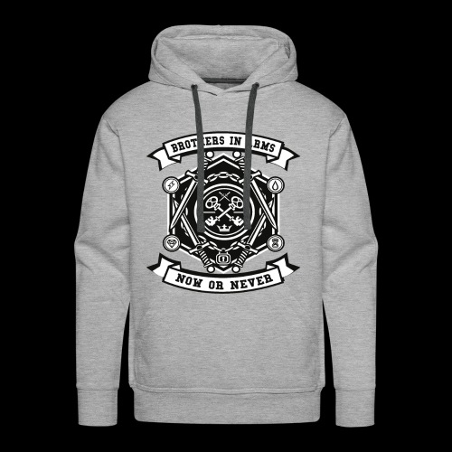 Brothers In Arms - Now or Never - Männer Premium Hoodie