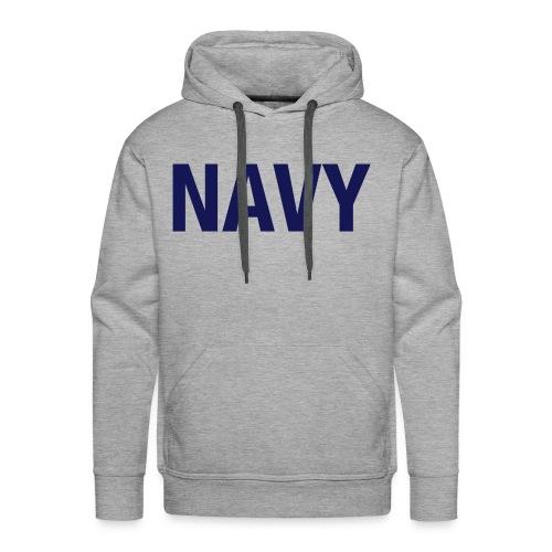 NAVY - Men's Premium Hoodie