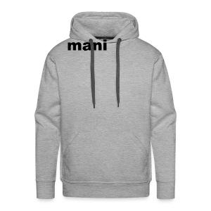 mani - Mannen Premium hoodie