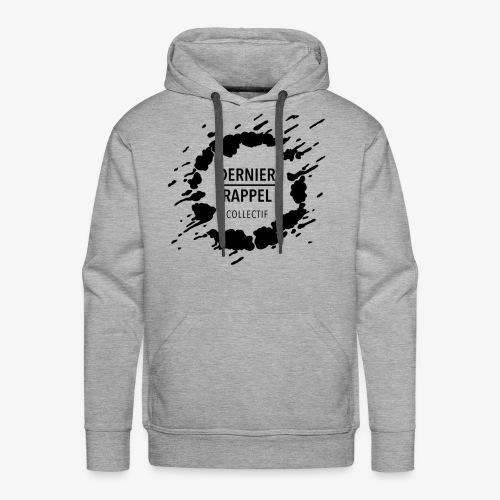 LogoDernierRappelNoirGT - Sweat-shirt à capuche Premium pour hommes