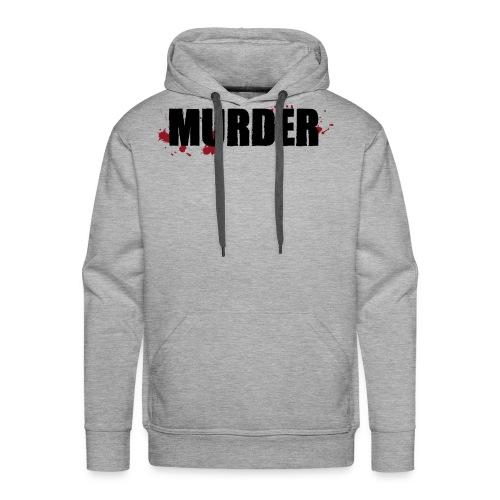MURDER - Sweat-shirt à capuche Premium pour hommes