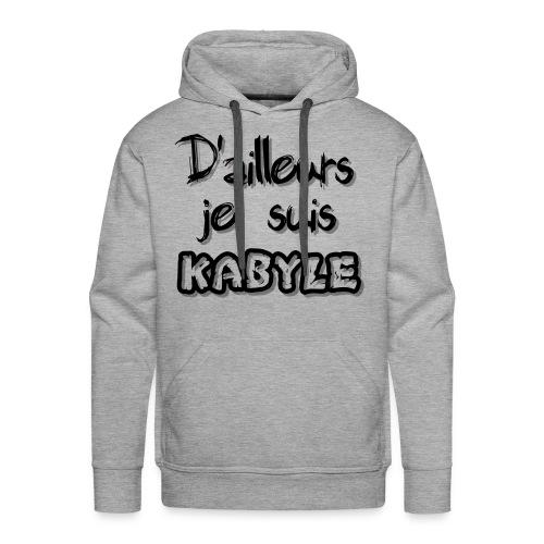 Je suis kabyle - Sweat-shirt à capuche Premium pour hommes