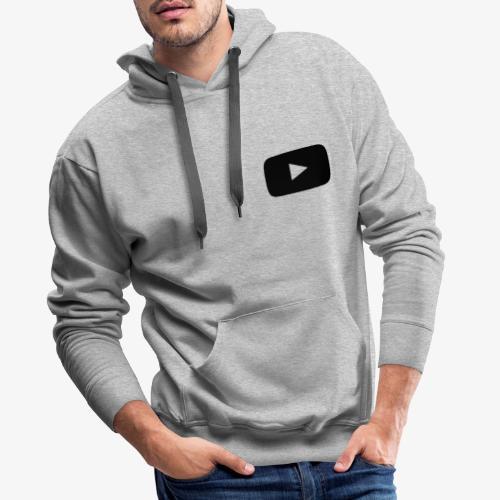 Youtube Logo - Männer Premium Hoodie