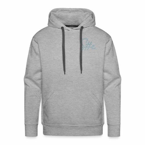 SheSharp Logo made of SheSharp Logos - Mannen Premium hoodie