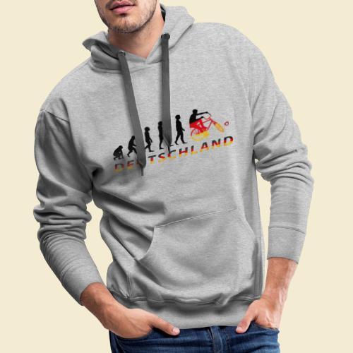 Radball   Evolution Deutschland - Männer Premium Hoodie