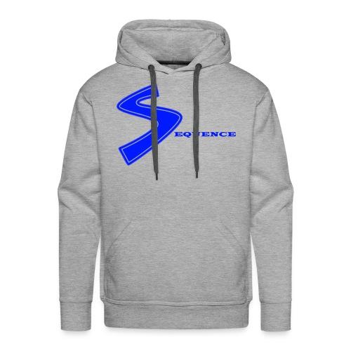 SEQUENCE BLUE - Männer Premium Hoodie