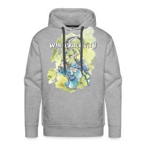 WINTERACTIVITY - Sweat-shirt à capuche Premium pour hommes