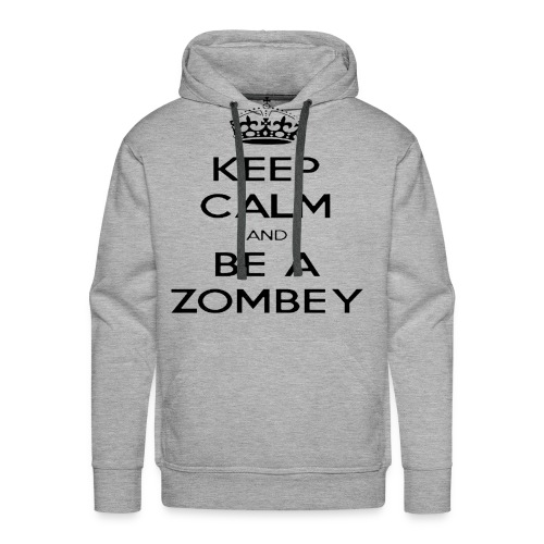 MiningZombey Merchstore logo v1 schwarz - Männer Premium Hoodie