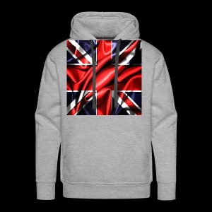 Union Jack design - Men's Premium Hoodie