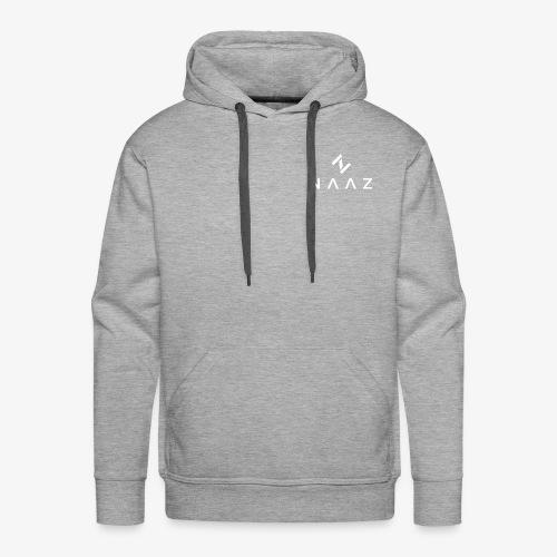 NAAZ White - Männer Premium Hoodie