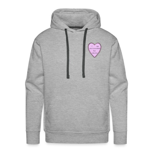 I'm surrounded by idiots - Men's Premium Hoodie
