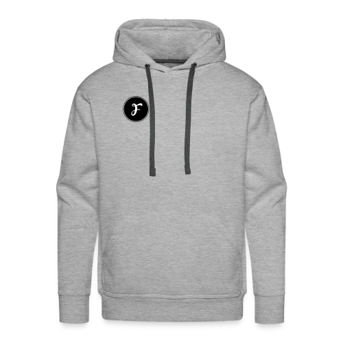 FluxCrew Logo - Men's Premium Hoodie