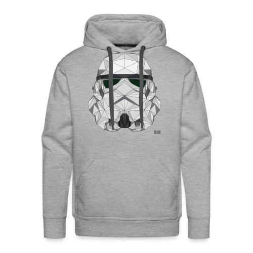 stormtrooper logo - Sweat-shirt à capuche Premium pour hommes