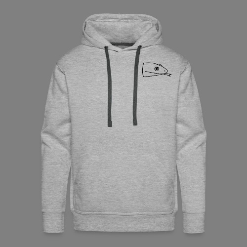 Snake logo black - Mannen Premium hoodie