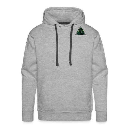 Triangle Forest window - Men's Premium Hoodie
