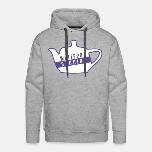 Whitepot Studios Logo - Men's Premium Hoodie