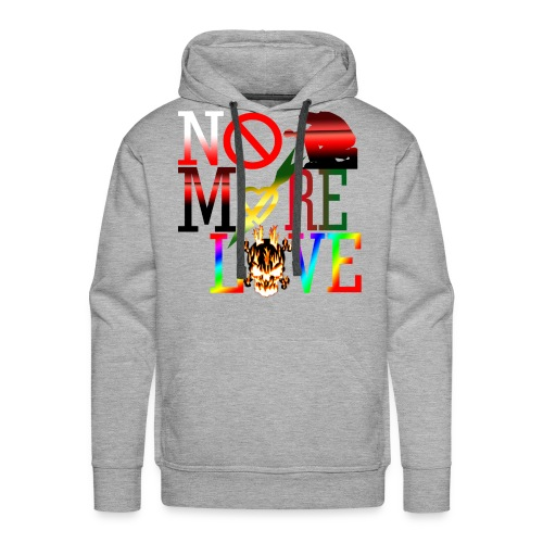 get no more love - Men's Premium Hoodie