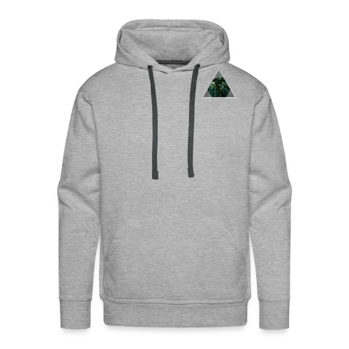 Triangle Forest window - Men's Premium Hoodie