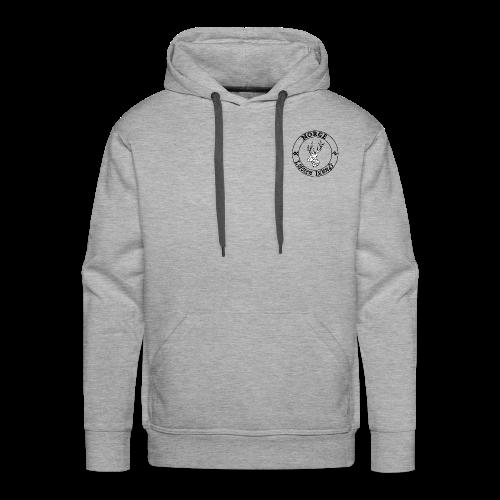 logo tampon norvège - Sweat-shirt à capuche Premium pour hommes