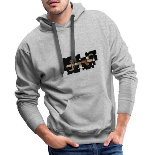 Puzzle Abstrait - Sweat-shirt à capuche Premium pour hommes