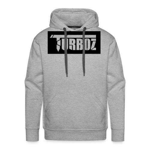 Black Turboz Background - Men's Premium Hoodie