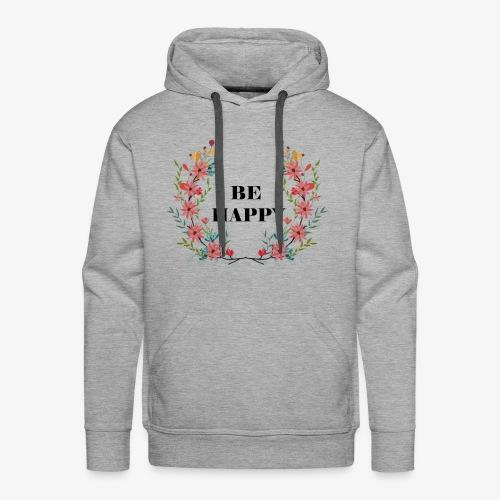 Blumen1 - Männer Premium Hoodie