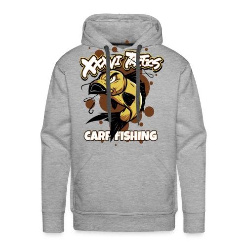 Carp fisching - karpfenangeln - by XXXVI TACTICS - Männer Premium Hoodie