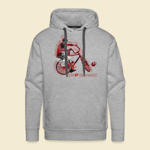 Radball | Hopp Schwiiz - Männer Premium Hoodie