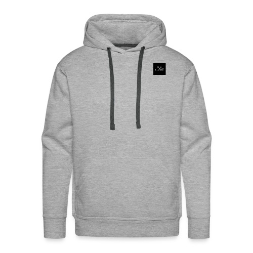 ELIA (Black and white) - Männer Premium Hoodie