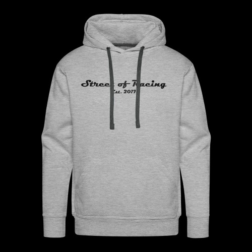 Street of Racing - collection one - Männer Premium Hoodie