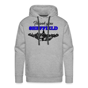 Thank You Sheffield - Men's Premium Hoodie