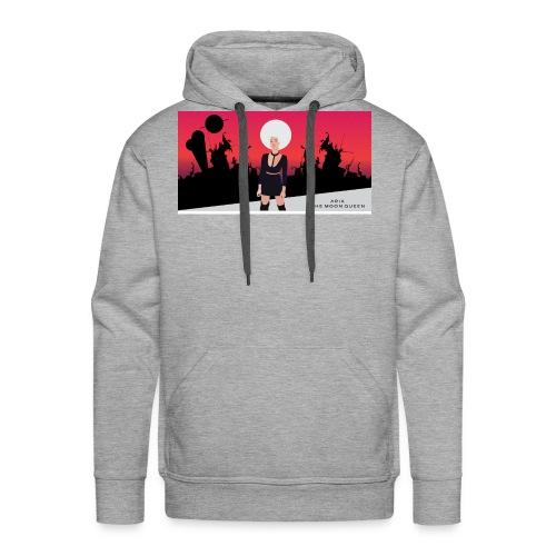 Aria The Moon Queen - Sweat-shirt à capuche Premium pour hommes