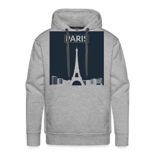 Paris - Collection 2015 - Sweat-shirt à capuche Premium pour hommes