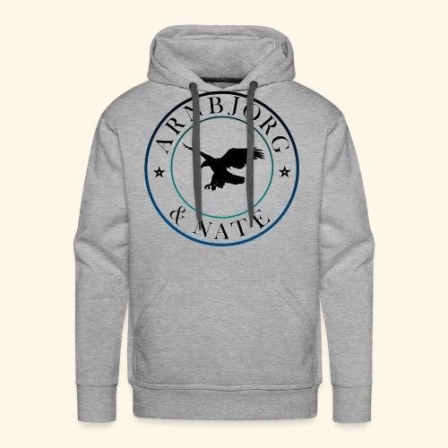 Uhr des Arnbjorgs - Männer Premium Hoodie