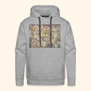 Impression hypnotique Street/Afro/Exotic - Sweat-shirt à capuche Premium pour hommes