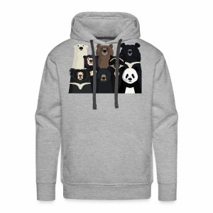 Bears of the world - Men's Premium Hoodie