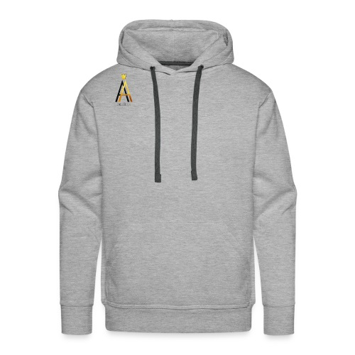 Simple Black - Männer Premium Hoodie