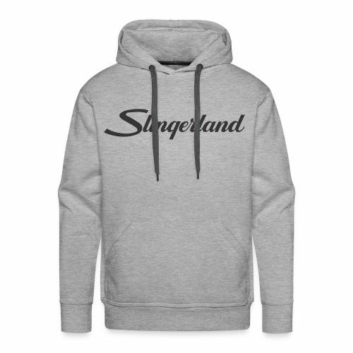 slingerland300dpi - Mannen Premium hoodie