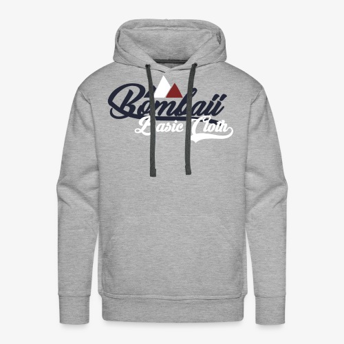 BomBaii French mountain - Sweat-shirt à capuche Premium pour hommes