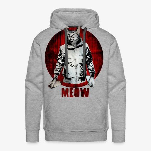 Urban Cat - Männer Premium Hoodie
