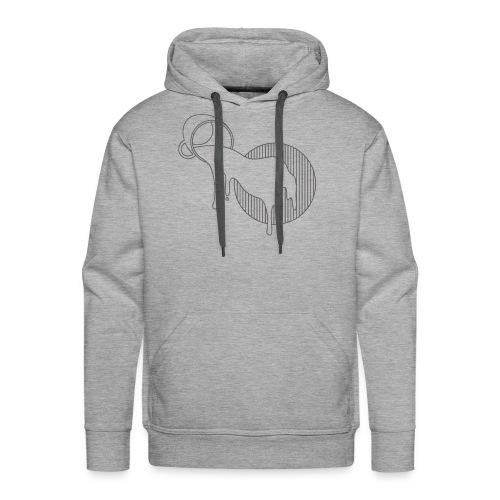 Spilled - Mannen Premium hoodie