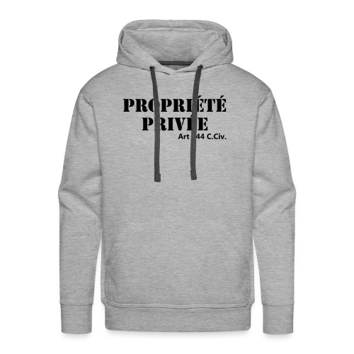 Propriété privée - Sweat-shirt à capuche Premium pour hommes