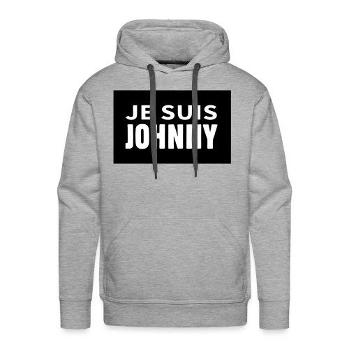 Je suis Johnny - Sweat-shirt à capuche Premium pour hommes