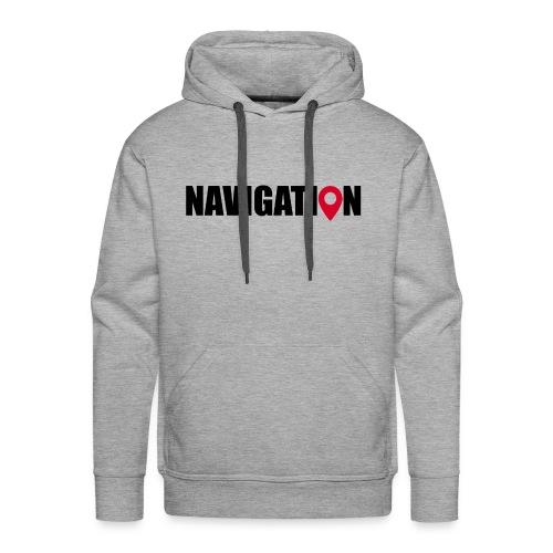 NAVIGATION - Sweat-shirt à capuche Premium pour hommes