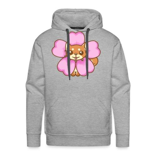 shiba inu sakura - Sweat-shirt à capuche Premium pour hommes