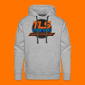 TLS Maniac Logo With Transparent Outline - Men's Premium Hoodie